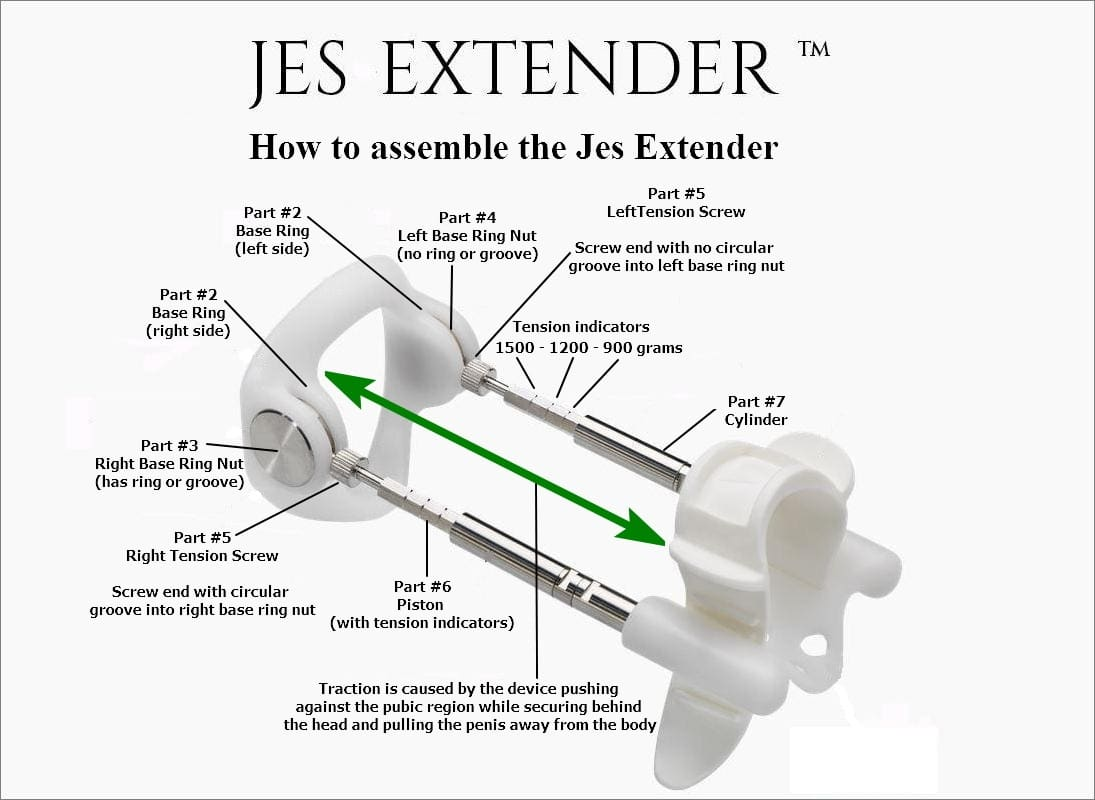 Jes Extender Assembling
