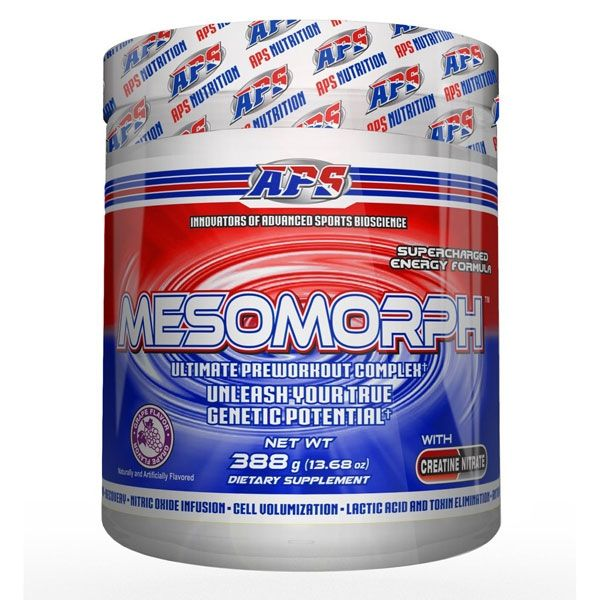 APS Mesomorph Pre Workout Review