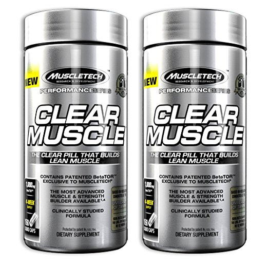 Clear Muscle Bottle photo