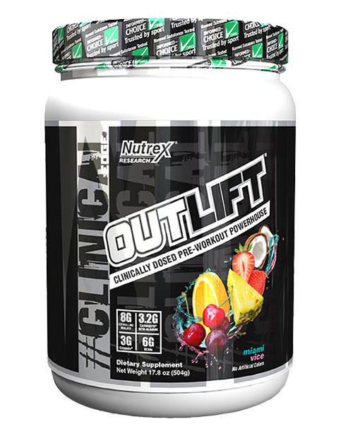 Outlift Pre Workout Preview.