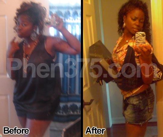 Phen375 antes y después de los resultados