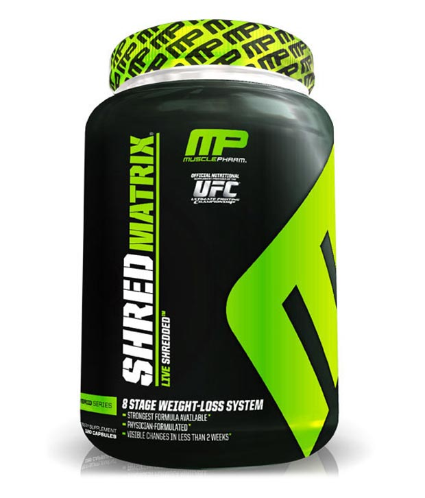 Muscle Pharm Shred Matrix and where to buy it.