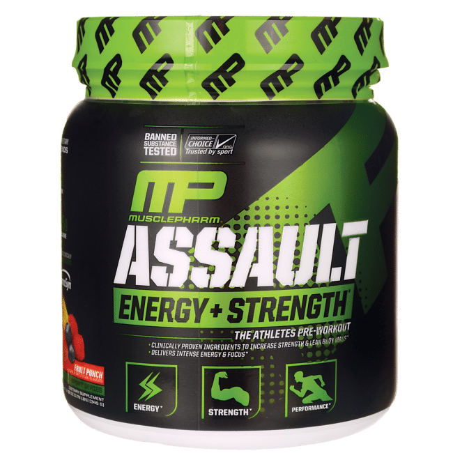 Where to buy Musclepharm Assault, our results.