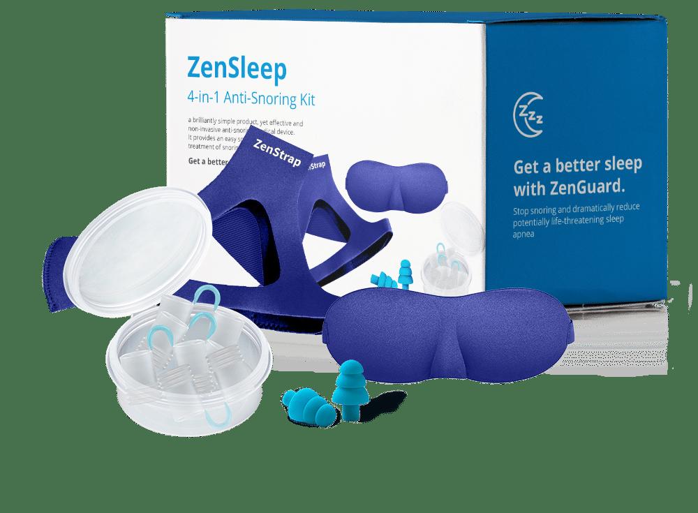 ZenSleep anti snoring system.